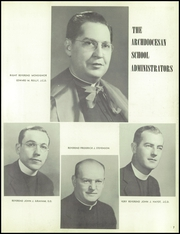 Page 11, 1956 Edition, St Thomas More High School - Utopian Yearbook (Philadelphia, PA) online yearbook collection