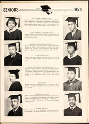 Page 15, 1953 Edition, Carver College - Carveran / Buck Yearbook (Charlotte, NC) online yearbook collection