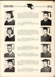 Page 16, 1953 Edition, Carver College - Carveran / Buck Yearbook (Charlotte, NC) online yearbook collection