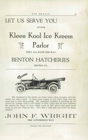 Page 51, 1920 Edition, Benton High School - Benecho Yearbook (Benton, PA) online yearbook collection
