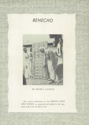 Page 7, 1953 Edition, Benton High School - Benecho Yearbook (Benton, PA) online yearbook collection
