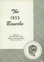 Page 7, 1955 Edition, Benton High School - Benecho Yearbook (Benton, PA) online yearbook collection