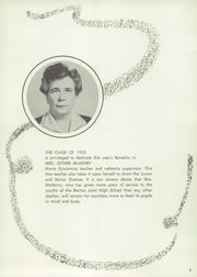 Page 9, 1955 Edition, Benton High School - Benecho Yearbook (Benton, PA) online yearbook collection