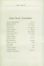 Page 12, 1924 Edition, Fifth Avenue High School - Archer Yearbook (Pittsburgh, PA) online yearbook collection