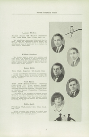 Page 13, 1924 Edition, Fifth Avenue High School - Archer Yearbook (Pittsburgh, PA) online yearbook collection