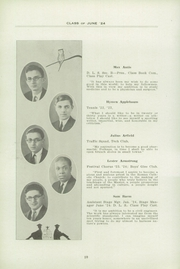 Page 14, 1924 Edition, Fifth Avenue High School - Archer Yearbook (Pittsburgh, PA) online yearbook collection