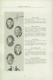 Page 16, 1924 Edition, Fifth Avenue High School - Archer Yearbook (Pittsburgh, PA) online yearbook collection