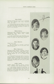 Page 17, 1924 Edition, Fifth Avenue High School - Archer Yearbook (Pittsburgh, PA) online yearbook collection