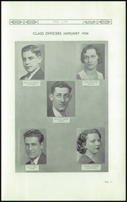 Page 13, 1934 Edition, Fifth Avenue High School - Archer Yearbook (Pittsburgh, PA) online yearbook collection