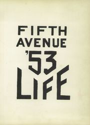 Page 5, 1953 Edition, Fifth Avenue High School - Archer Yearbook (Pittsburgh, PA) online yearbook collection