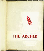 1962 Edition, Fifth Avenue High School - Archer Yearbook (Pittsburgh, PA)