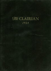 Page 1, 1934 Edition, St Clair High School - Clairian Yearbook (St Clair, PA) online yearbook collection