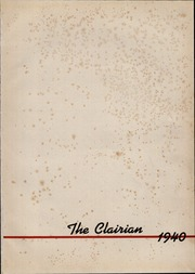 Page 13, 1940 Edition, St Clair High School - Clairian Yearbook (St Clair, PA) online yearbook collection