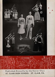 Page 15, 1940 Edition, St Clair High School - Clairian Yearbook (St Clair, PA) online yearbook collection