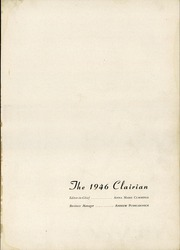 Page 5, 1946 Edition, St Clair High School - Clairian Yearbook (St Clair, PA) online yearbook collection