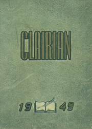 Page 1, 1949 Edition, St Clair High School - Clairian Yearbook (St Clair, PA) online yearbook collection