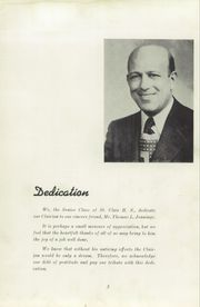 Page 7, 1949 Edition, St Clair High School - Clairian Yearbook (St Clair, PA) online yearbook collection
