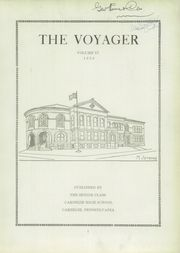 Page 7, 1930 Edition, Carnegie High School - Voyager Yearbook (Carnegie, PA) online yearbook collection