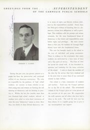 Page 14, 1941 Edition, Carnegie High School - Voyager Yearbook (Carnegie, PA) online yearbook collection