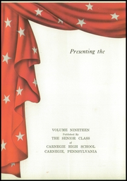 Page 6, 1943 Edition, Carnegie High School - Voyager Yearbook (Carnegie, PA) online yearbook collection