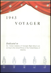 Page 7, 1943 Edition, Carnegie High School - Voyager Yearbook (Carnegie, PA) online yearbook collection