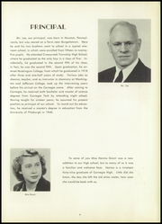 Page 13, 1951 Edition, Carnegie High School - Voyager Yearbook (Carnegie, PA) online yearbook collection