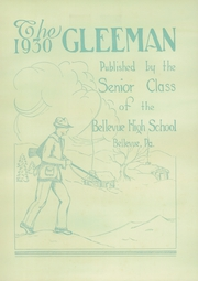 Page 6, 1930 Edition, Bellevue High School - Gleeman Yearbook (Bellevue, PA) online yearbook collection