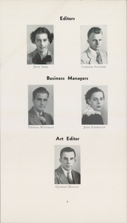 Page 8, 1936 Edition, Bellevue High School - Gleeman Yearbook (Bellevue, PA) online yearbook collection