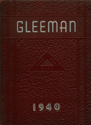 1940 Edition, Bellevue High School - Gleeman Yearbook (Bellevue, PA)