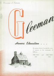 Page 6, 1942 Edition, Bellevue High School - Gleeman Yearbook (Bellevue, PA) online yearbook collection