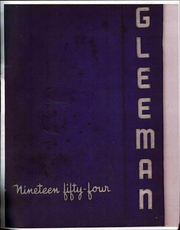 1954 Edition, Bellevue High School - Gleeman Yearbook (Bellevue, PA)