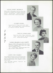 Page 17, 1957 Edition, Edgewood High School - Sylvan Yearbook (Edgewood, PA) online yearbook collection