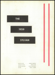 Page 5, 1959 Edition, Edgewood High School - Sylvan Yearbook (Edgewood, PA) online yearbook collection