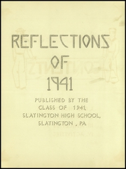 Page 3, 1941 Edition, Slatington High School - Reflections Yearbook (Slatington, PA) online yearbook collection