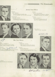 Page 17, 1938 Edition, Homestead High School - Homesteader Yearbook (Homestead, PA) online yearbook collection