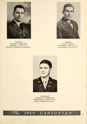 Page 11, 1949 Edition, Carson Long Military Institute - Carsonian Yearbook (New Bloomfield, PA) online yearbook collection