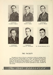 Page 12, 1949 Edition, Carson Long Military Institute - Carsonian Yearbook (New Bloomfield, PA) online yearbook collection