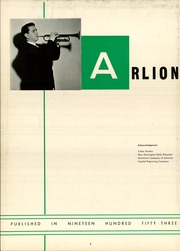 Page 6, 1953 Edition, Arnold High School - Arlion Yearbook (Arnold, PA) online yearbook collection