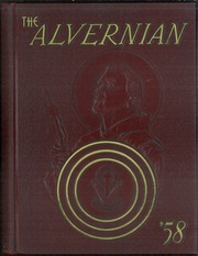1958 Edition, Mount Alvernia High School - Alvernian Yearbook (Pittsburgh, PA)