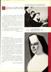 Page 11, 1958 Edition, Mount Alvernia High School - Alvernian Yearbook (Pittsburgh, PA) online yearbook collection