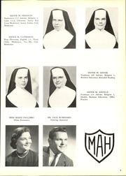 Page 13, 1958 Edition, Mount Alvernia High School - Alvernian Yearbook (Pittsburgh, PA) online yearbook collection