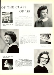 Page 17, 1958 Edition, Mount Alvernia High School - Alvernian Yearbook (Pittsburgh, PA) online yearbook collection