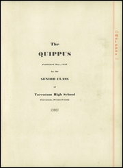 Page 5, 1937 Edition, Tarentum High School - Quippus Yearbook (Tarentum, PA) online yearbook collection