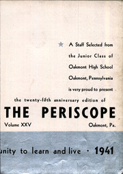 Page 7, 1941 Edition, Oakmont High School - Yearbook (Oakmont, PA) online yearbook collection