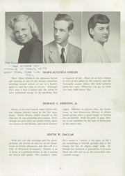 Page 17, 1948 Edition, Germantown Friends School - Blue and White Yearbook (Philadelphia, PA) online yearbook collection
