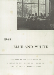 Page 9, 1948 Edition, Germantown Friends School - Blue and White Yearbook (Philadelphia, PA) online yearbook collection