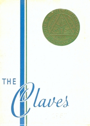 1957 Edition, Pius X High School - Claves Yearbook (Roseto, PA)