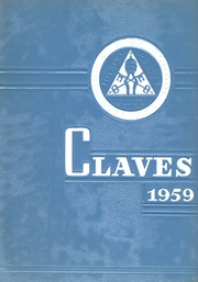 1959 Edition, Pius X High School - Claves Yearbook (Roseto, PA)