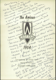 Page 7, 1954 Edition, Westtown High School - Yearbook (Westtown, PA) online yearbook collection