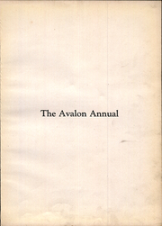 Page 7, 1928 Edition, Avalon High School - Annual Yearbook (Avalon, PA) online yearbook collection